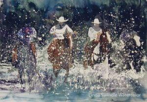 Linda Swindle - Watercolor