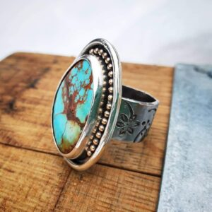 Kingman Turquoise Cowgirl Ring