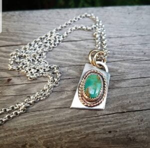 Royston Green Turquoise Necklace