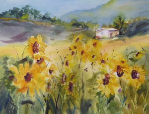 Jacqueline Newbold - Watercolor