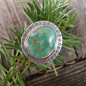 Green American Turquoise Ring