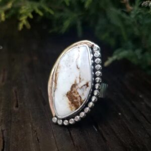 Wild Horse Turquoise Cowgirl Ring