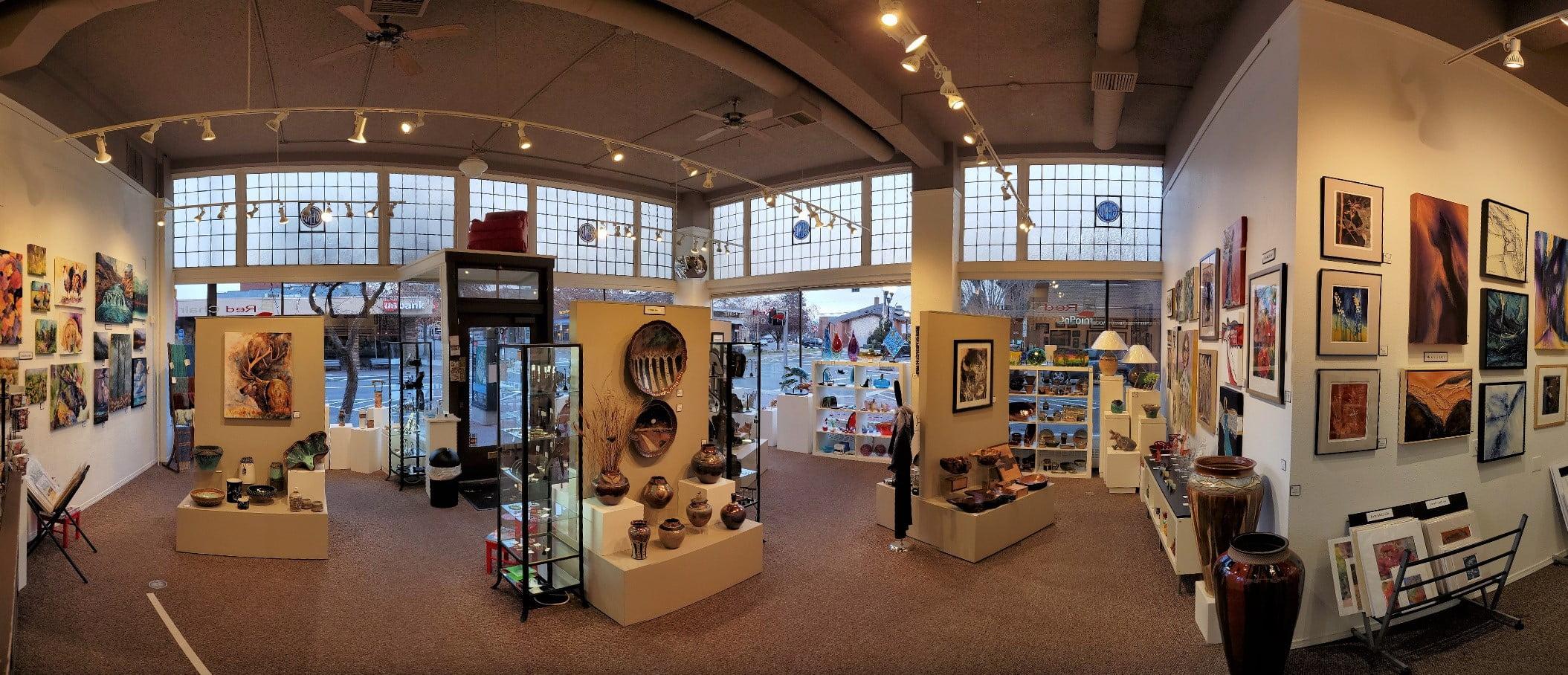 Store Interior Pano